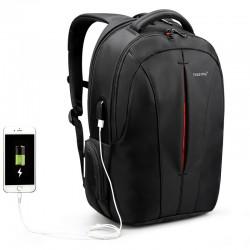 Рюкзак городской Tigernu T-B3105 USB черный с оранжевым