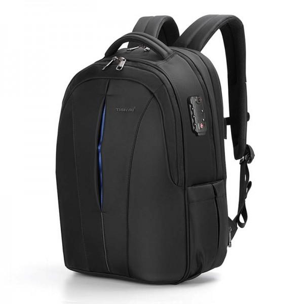 """Рюкзак городской Tigernu T-B3105xl 17,3"""" USB черный с синим"""
