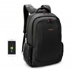 Рюкзак городской T-B3143 USB черный