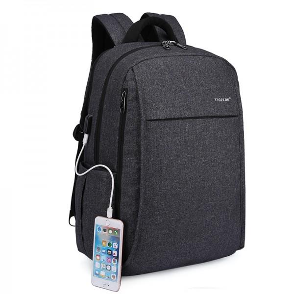 Рюкзак городской Tigernu T-B3221 оксфорд темно-серый