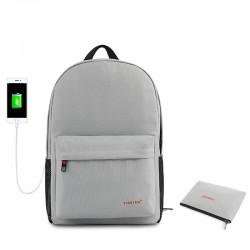 Рюкзак городской T-B3249 серый