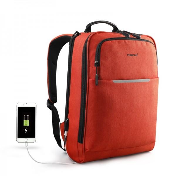 Рюкзак городской T-B3305 оранжевый