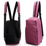 Сумка-рюкзак T-S8038 серая