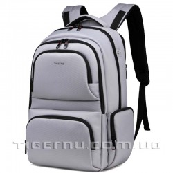 Рюкзак городской T-B3140 светло-серый