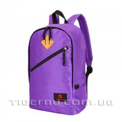 Рюкзак городской T-B3198 фиолетовый