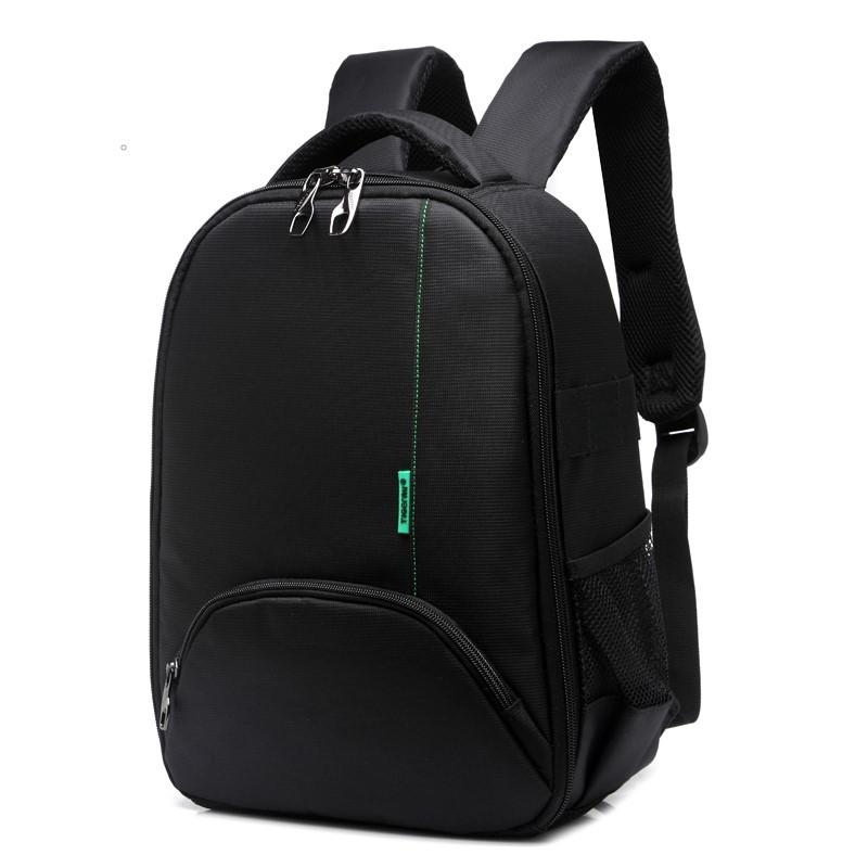 ceaba1aa32b4 Рюкзак для камеры T-C6005 черный с зеленым